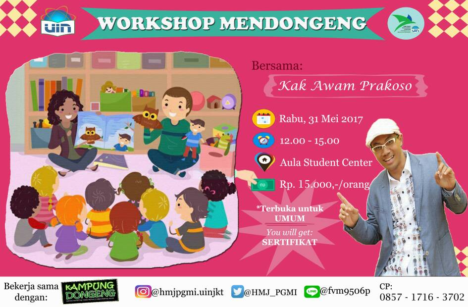 WORKSHOP MENDONGENG PGMI