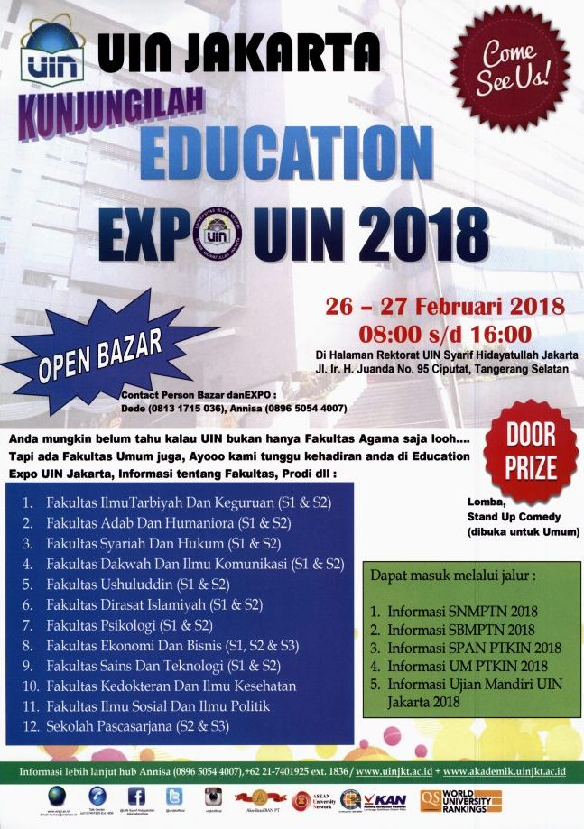 EDUCATION EXPO UIN 2018
